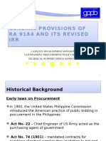 General Provisions of RA 9184 and Its IRR 2