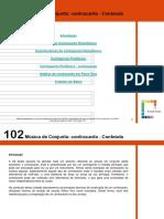 102Música de Conjunto Contracanto - Conteúdo