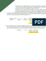 Ejercicios de Matematicas Financieras