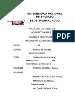 Diseño de Planta Para Mermelada de Chiclayo