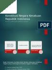 Konstitusi Negara Kesatuan Republik Indonesia