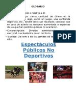 Impuesto a Los Espectáculos Públicos No Deportivos