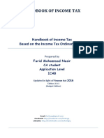 Handbook of Income Tax_Updated in Light of Finance Act 2016