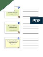 1. the Strategic Marketing Planning Process STU