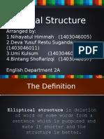 Grammar Elliptical New