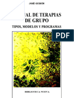 Manual de Terapia de Grupo Jose Guimon