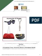16 Vocabulary Corner_ Accessories Women ( Perlengkapan Wanita) _ SekolahBahasaInggris