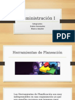 Presentacion Administración I