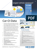 Car o Liner Data