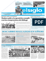 Edición Impresa Elsiglo 21-11-2016