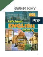 Bahasa Inggris Sma x Kunci Jawaban