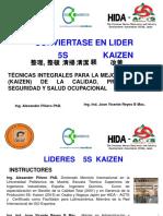 CRINI Tecnicas 5S Kaizen Calidad, Productividad y Seguridad Laboral