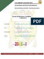 2do Informe-planes de Desarrollo