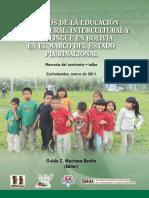 2011 Libro Desafios de La Educacion Intracultural