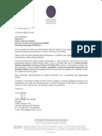 Rec. Letter UTP