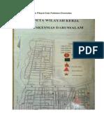 Peta Wilayah Kerja Puskesmas Darussalam