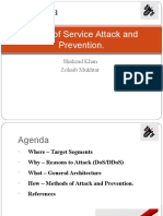 DoS Attacks and Prevention