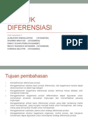 Pengertian Diferensiasi Produk, Contoh, dan Cara Melakukannya