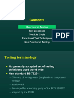 Test Life Cycle and Processes