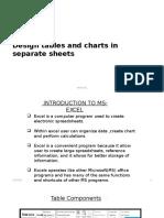Tables Charts Design Details Week 5