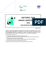 Gas Questionnaire Instructions 2015