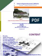 Urban Poverty & Initiatives of Local Economic Development