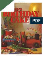 Childrens Birthday Cake Book