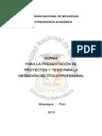 Esquema- Pres Proyecto Tesis 2015 A