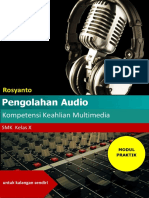 Modul Menggunakan Adobe Audition Cs6 26 Mei 2016