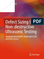 Defect Sizing Using NDT UT Applying Bandwidth-Dependent DAC and DGS Curves (2016)
