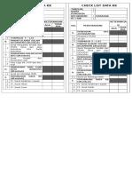 Check List Data Kk