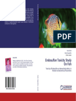 Endosulfan Toxicity Study On Fish