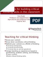Critical Thinking Pres_Nebraska 2009
