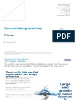 Resumemakingworkshop Iitbombay2012
