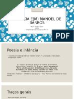 Infância e(m) Manoel de Barros