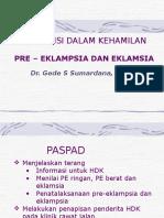Hipertensi Dalam Kehamilan ( Gede )