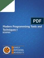 DCAP501_MODERN_PROGRAMMING_TOOLS_AND_TECHNIQUES_I.pdf