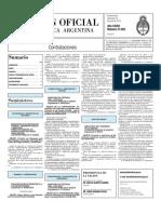 Boletin Oficial 16-06-10 - Tercera Seccion