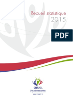 Recueil Statistique Cnracl 2015