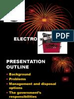 electronic garbage waste