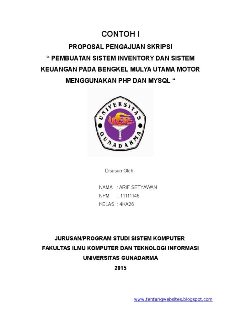skripsi pendidikan bahasa indonesia pdf