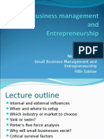Small Business and Entreprenership 3