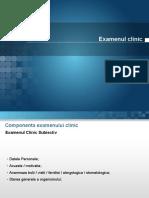 Examenul Clinic Al Pacientului in Ortodontie
