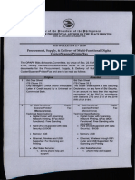 Bid Bulletin 2-2016 Multi-Functional Digital Copier-Scanner-Fax