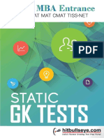 Static GK Tests Final