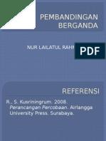 PEMBANDINGAN BERGANDA.pptx