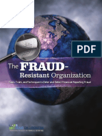 The Fraud Resistant Organization