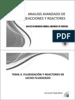 Fluidizacion y Reactores de Lecho Fluidizado
