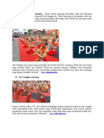 Contoh Tarian Daerah Lampung