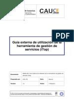 INEDU-051 - Manual Del Servicio de Gestion de Procesos